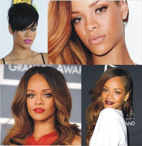Rihannas make up