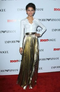 ZENDAYA COLEMAN at Teen Vogue Young Hollywood Party