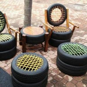 Tyre Tube Furnitures