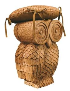 Ullu Owl stool