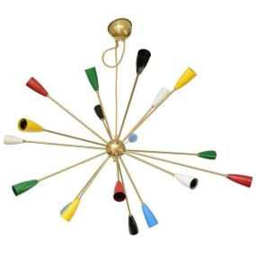 Sputnik Chandelier with 24 shades